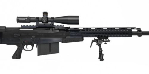 size action of rifle