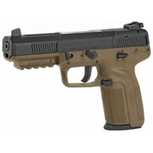 FN FIVE SEVEN BLACK/ FDE 5.7×28, WITH THREE 20 ROUND MAGS