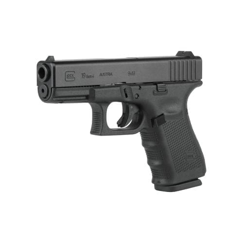 Glock 19 GEN 4 9mm with three 15 round mags